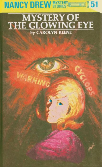 Nancy Drew 51: Mystery of the Glowing Eye настольная лампа ideal lux elica tl1 small 014593