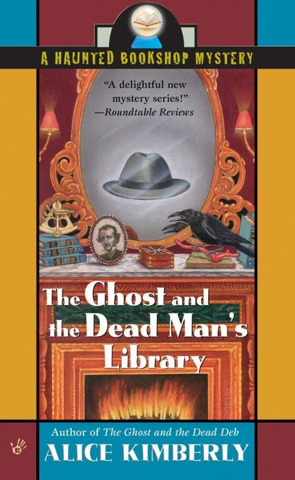 The Ghost and the Dead Man's Library the invisible library