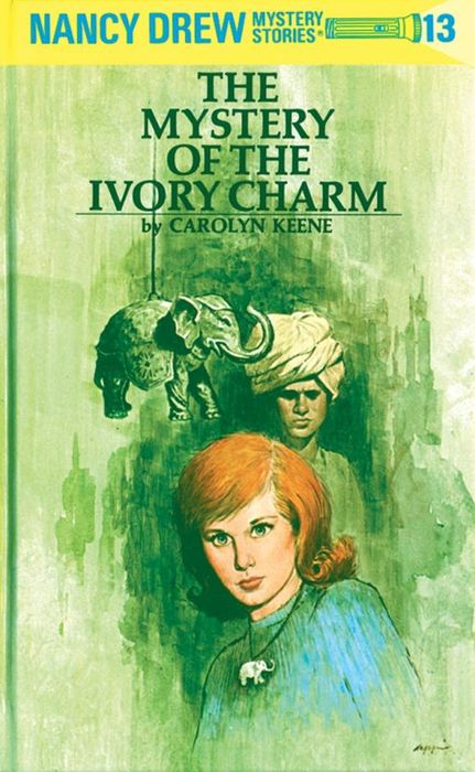 Nancy Drew 13: the Mystery of the Ivory Charm шапка piazza italia piazza italia pi022cwwph62