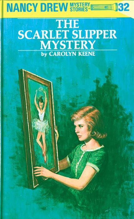 Nancy Drew 32: the Scarlet Slipper Mystery the scarlet letter