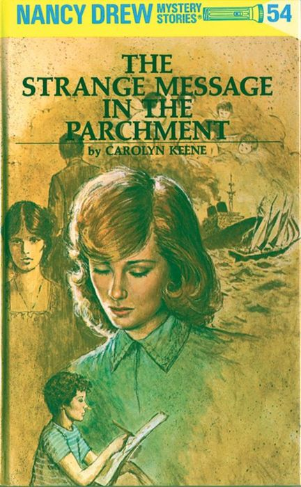Nancy Drew 54: the Strange Message in the Parchment спецодежда xiqian nancy bdg02
