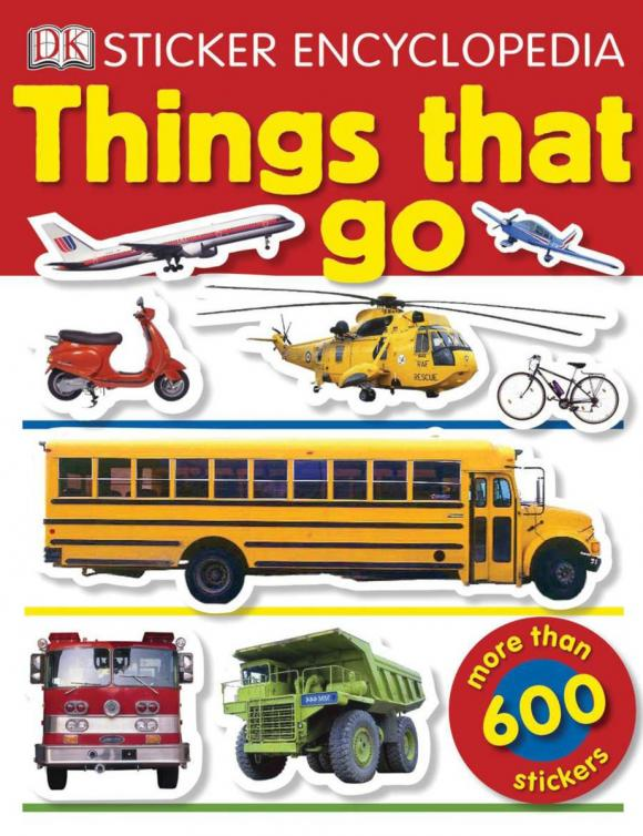 Sticker Encyclopedia: Things That Go sticker encyclopedia ocean
