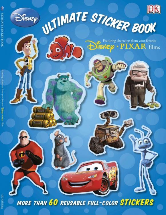 Ultimate Sticker Book: Disney Pixar ultimate sticker book dangerous dinosaurs