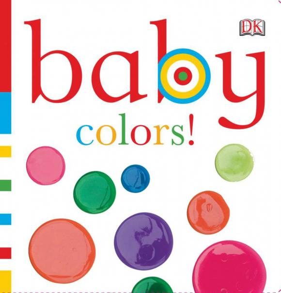 Baby: Colors! dk squeaky baby bath colors