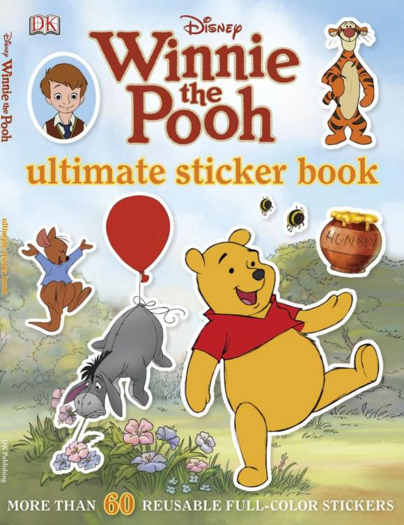Купить Ultimate Sticker Book: Winnie the Pooh