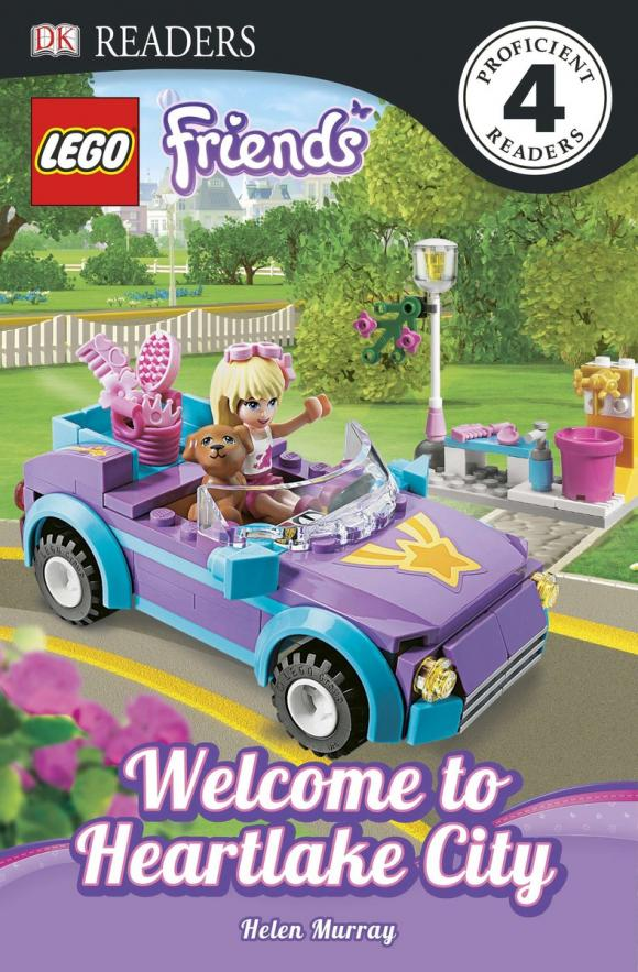 DK Readers L4: LEGO Friends: Welcome to Heartlake City dk readers l1 a day at greenhill farm