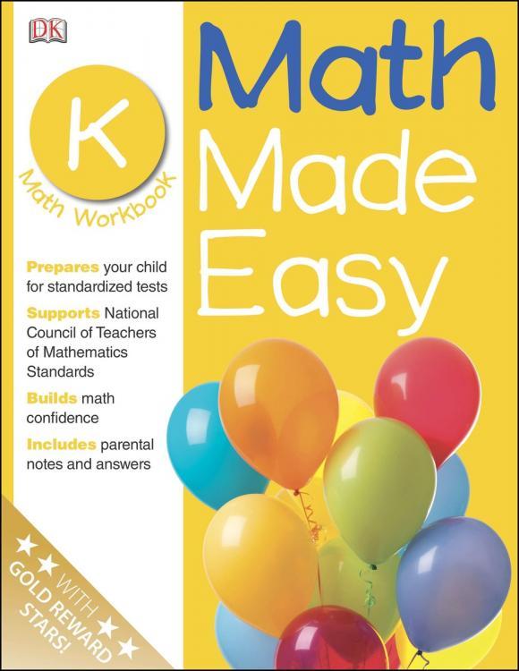 Math Made Easy: Kindergarten math made easy first grade