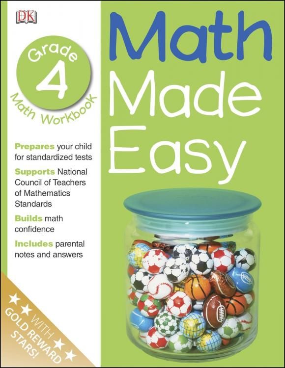 Math Made Easy: Fourth Grade math made easy first grade