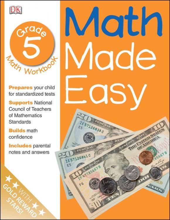 Math Made Easy: Fifth Grade math made easy first grade
