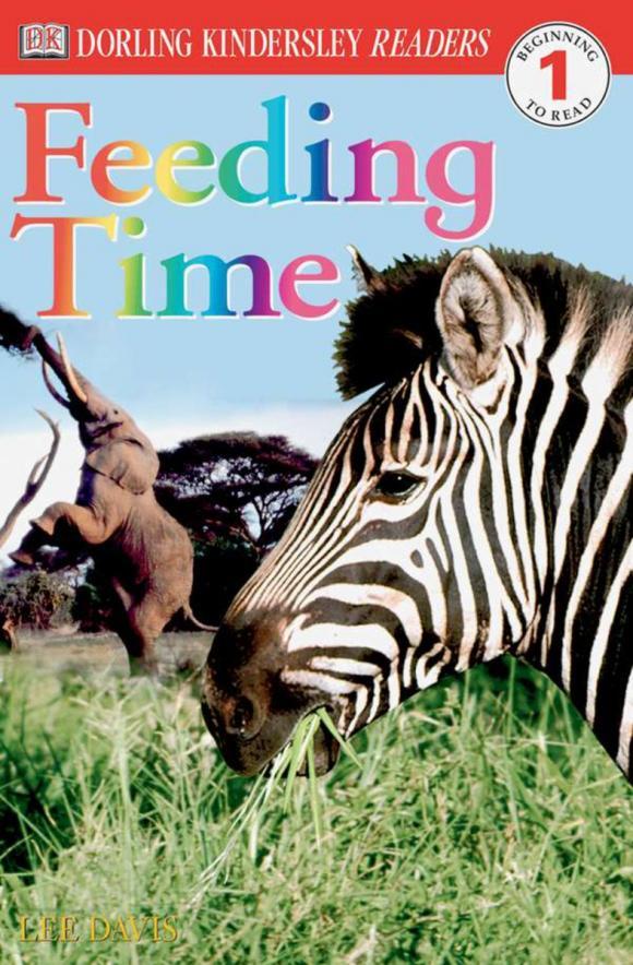 DK Readers L1: Feeding Time sue unstead dk readers l1 little dolphin