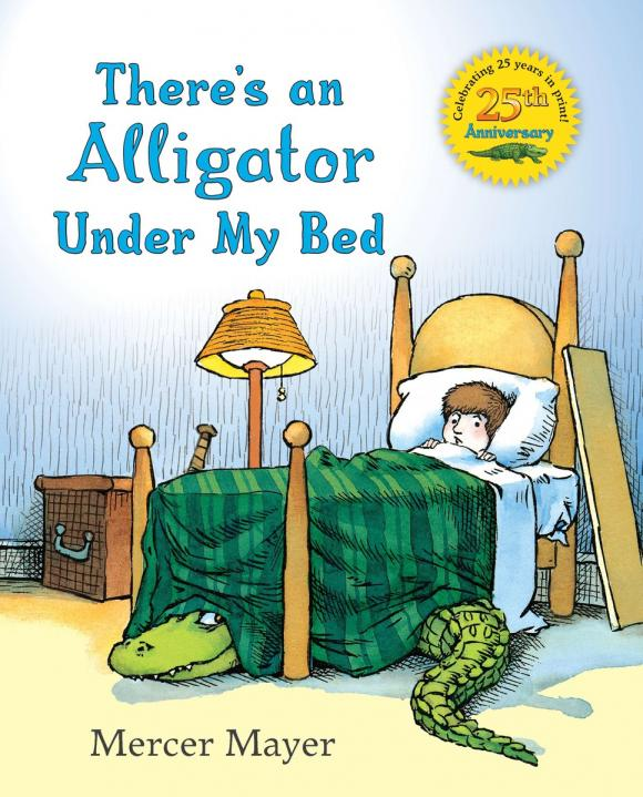 There's an Alligator under My Bed alligator