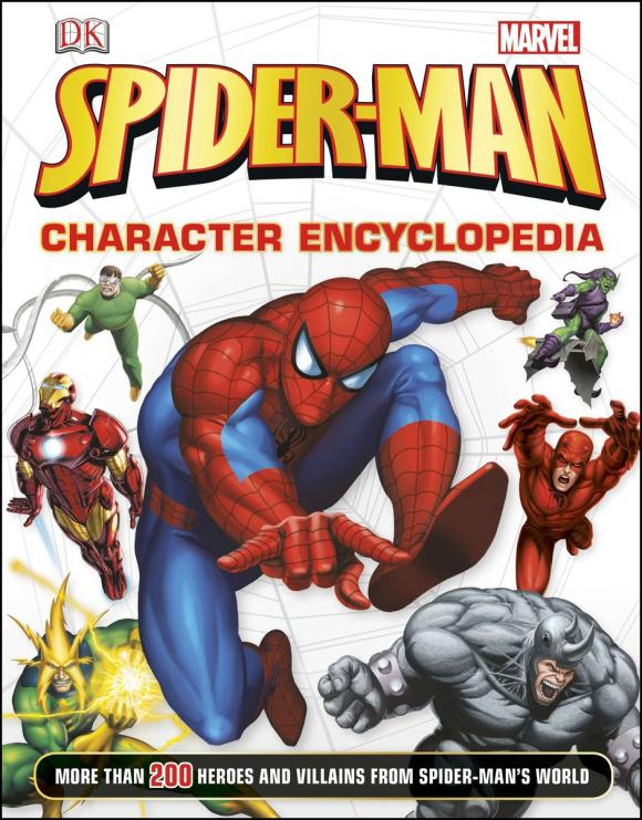 Spider-Man Character Encyclopedia душевой поддон cezares tray a ah 100 80 15 w