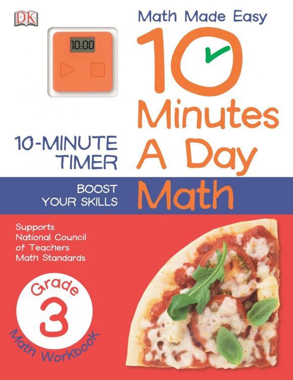 10 Minutes a Day: Math: 3 Grade