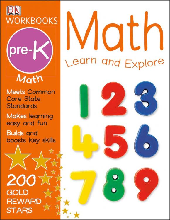 DK Workbooks: Math, Pre-K new high quality wooden tangram brain tetris game puzzle bloacks preschool children play harmless wood training educational toys