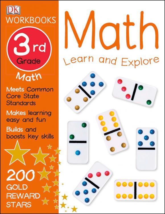 DK Workbooks: Math, Third Grade math made easy first grade