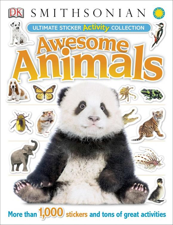 Ultimate Sticker Activity Collection: Awesome Animals ultimate sticker books dog