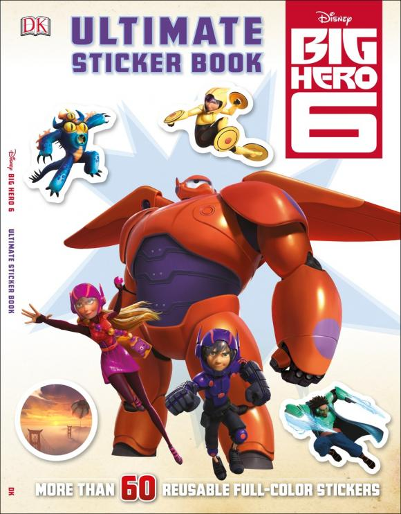 Ultimate Sticker Book: Big Hero 6 ultimate sticker books dog