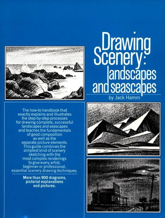 Drawing Scenery: Seascapes and Landscapes restoring layered landscapes