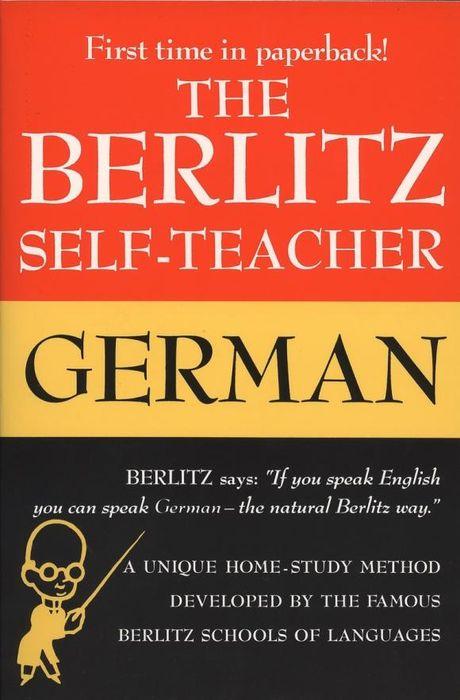 Berlitz Self-Teacher: German german verb berlitz handbook
