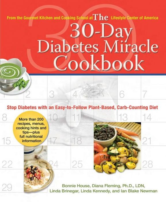 The 30-Day Diabetes Miracle Cookbook купить
