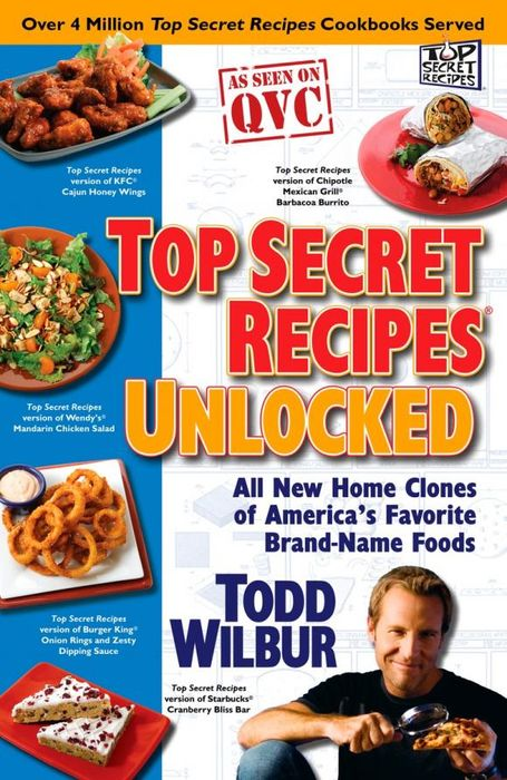 Top Secret Recipes Unlocked top secret to795emjst36 top secret
