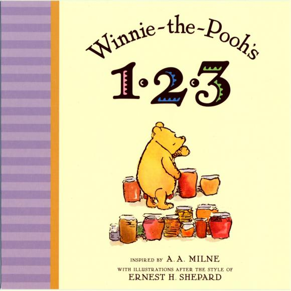 Купить Winnie the Pooh's 1, 2, 3,