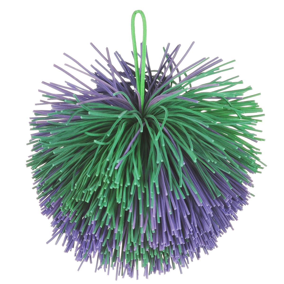 Мяч Ogosoft, цвет: фиолетовый, зеленый мяч ogosport og0401