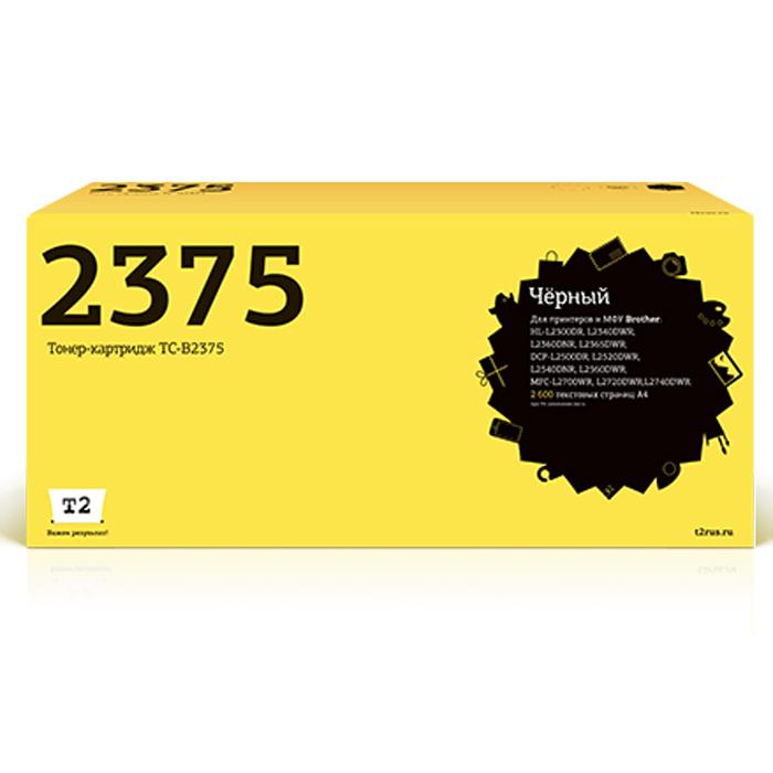 T2 TC-B2375 тонер-картридж (аналог TN-2375) для Brother HL-L2300DR/L2340DWR/DCP-L2500DR/L2520DWR/MFC-L2700WR brother tn 2375 тонер картридж для hl l2300dr hl l2340dwr hl l2360dnr hl l2365dwr dcp l2500dr dcp l2520dwr dcp l2540dnr dcp l2560dwr mfc l2700dwr