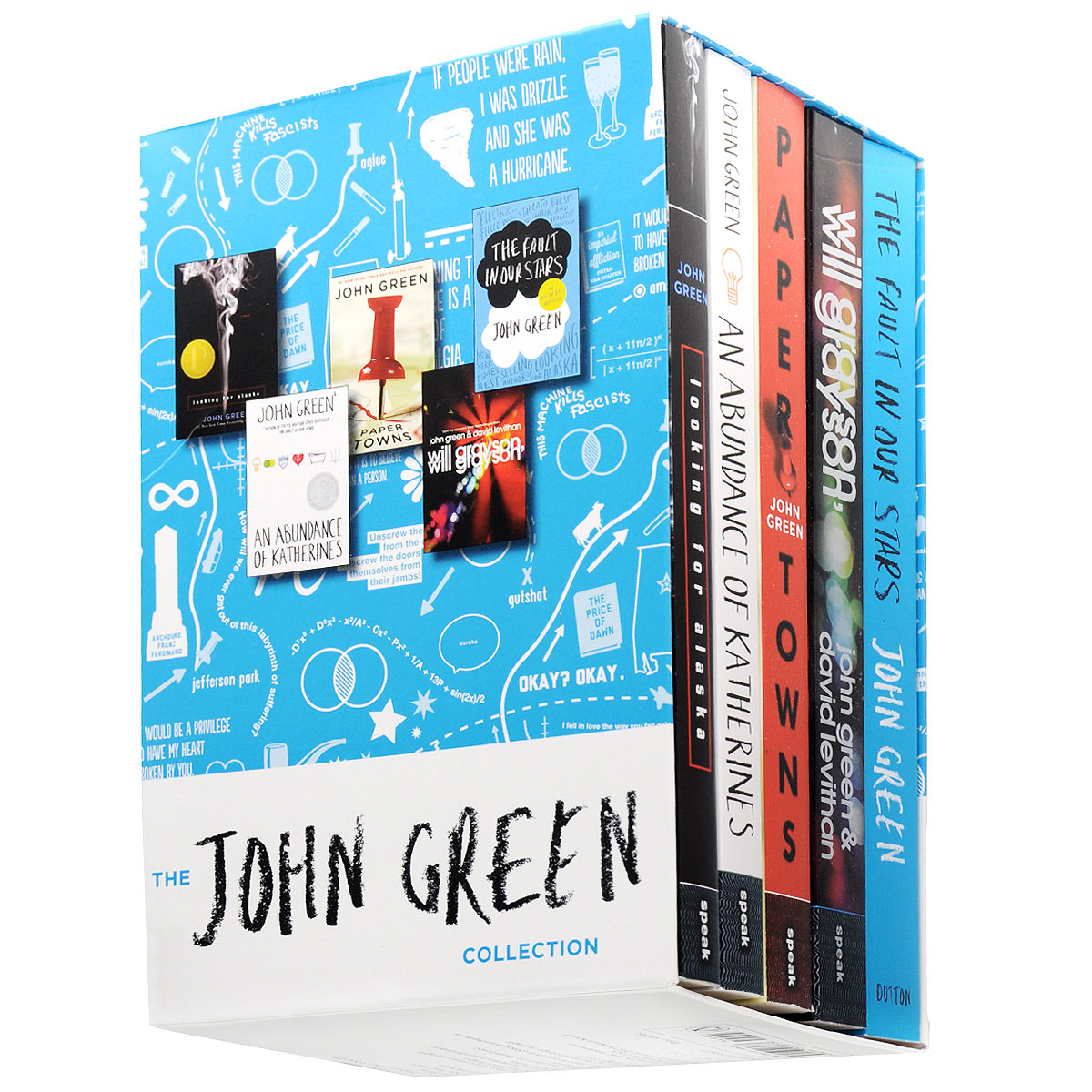 The John Green Collection (комплект из 5 книг) the john green collection комплект из 5 книг