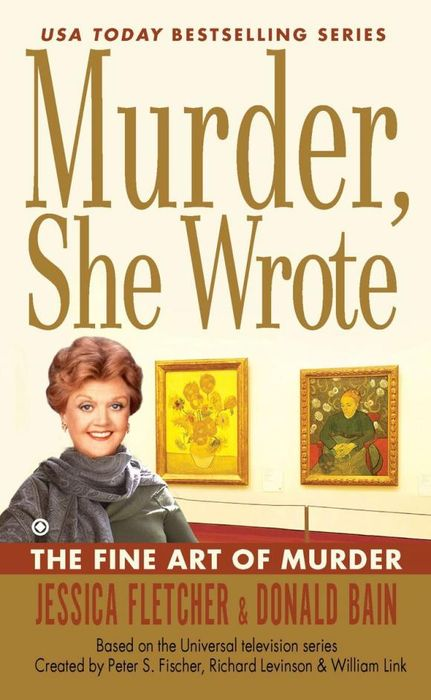 Murder, She Wrote: the Fine Art of Murder the murder wall