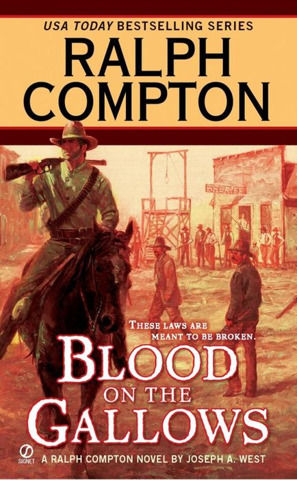 Ralph Compton Blood on the Gallows рубашка ralph