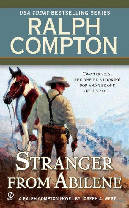 Ralph Compton the Stranger From Abilene my husband the stranger