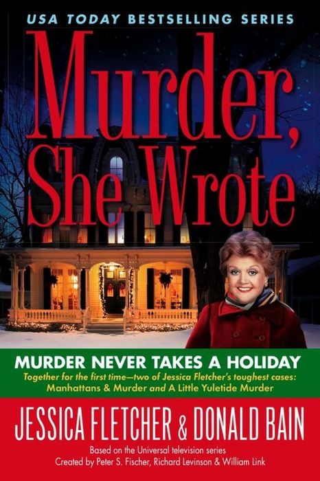 Murder, She Wrote: Murder Never Takes a Holiday наземный высокий светильник arte lamp berlin a1016pa 1bn