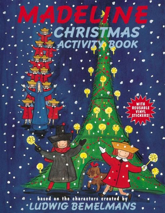 Madeline Christmas Activity Book free shipping 2 3 month 1000g comfortable 100