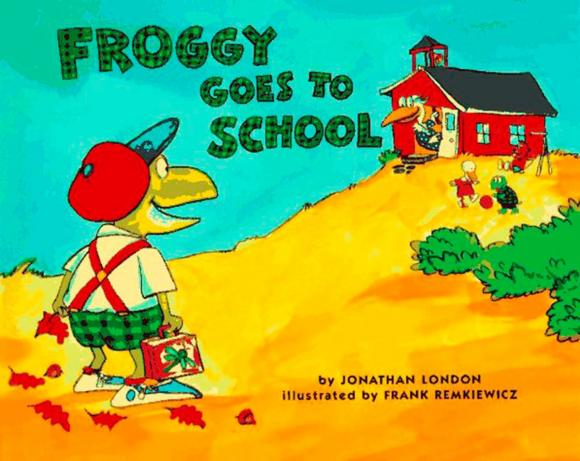 Froggy Goes to School lucky goes to school