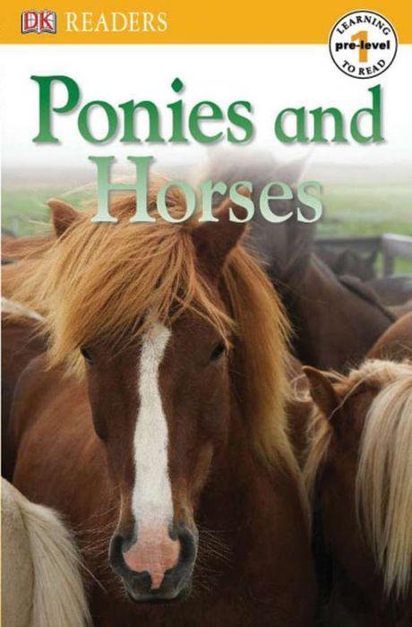 DK Readers L0: Ponies and Horses dk readers horse heroes true stories of amazing horses