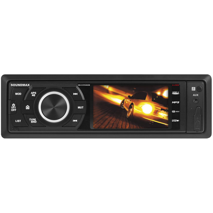 Soundmax SM-CCR3082M автомагнитола автомагнитола kenwood kdc bt510u