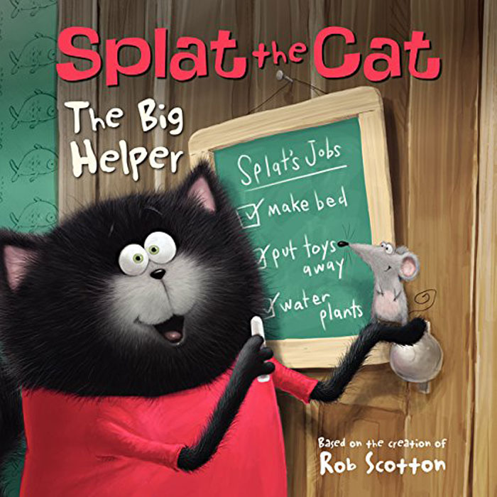 Splat the Cat: The Big Helper сковороды helper сковорода helper granit мокко 24 см