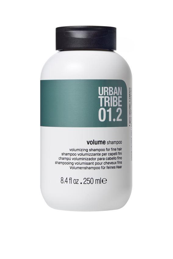 URBAN TRIBE Шампунь для объема 250 мл56232Шампунь, придающий объем тонким волосам. Специальные активные ингредиенты в составе инновационной формулы мягко очищают волосы, придавая им объем.Волосы становятся густыми, блестящими, легко расчесываются.