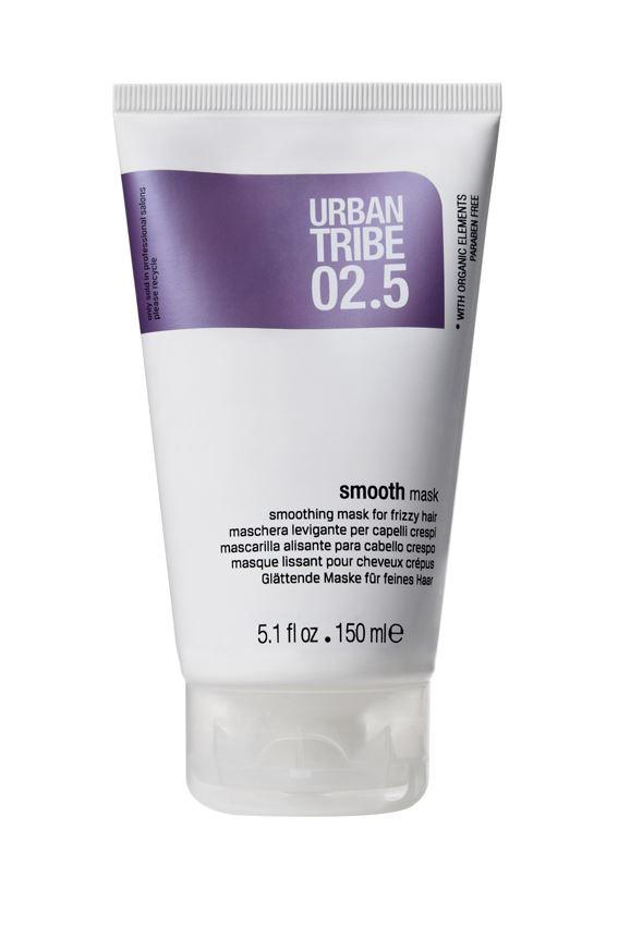 URBAN TRIBE Сглаживающая маска для вьющихся волос 150 мл.