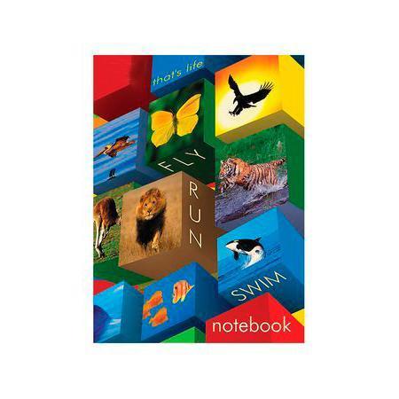 Бизнес блокнот ЛАЙТ 160л А6ф интегральный переплет Animals mosaic160ББL6B1_12936