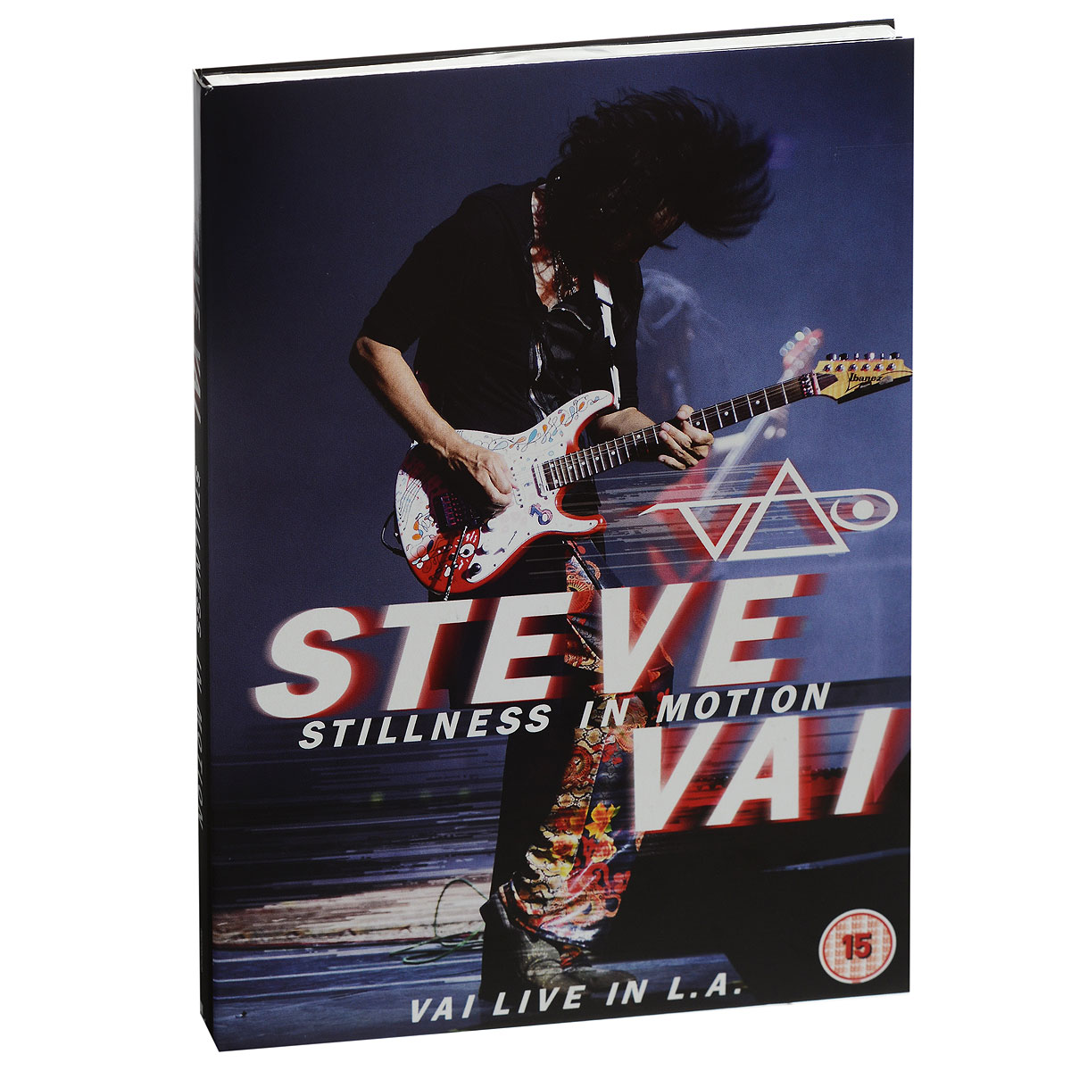 Steve Vai. Stillness In Motion. Vai Live In L.A. (2 DVD) helloween keeper on the seven keys the legacy world tour 2005 2006 2 dvd