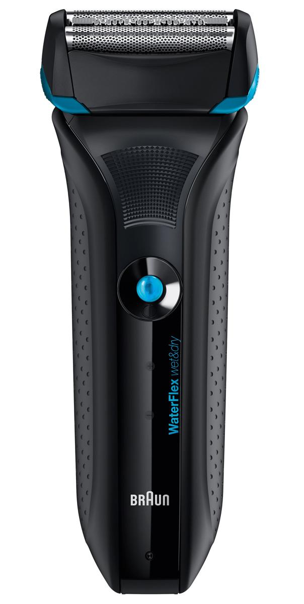 Braun WaterFlex WF2s, Black электробритваWES9942Для непревзойдённого ощущения гладкости. Можно использовать с пеной для бритья. Электробритва Braun WaterFlex WF2s black Для непревзойдённого ощущения гладкости. Можно использовать с пеной для бритья.Электробритвы Braun Series WaterFlexгарантируют комфорт и точное бритье даже в проблемных зонах. Подвижная насадка, способнa адаптироваться под контуры лица. Электробритвы Braun Series WaterFlex разработаны по наивысшим немецким стандартам качества и сочетают в себе эргономичный дизайн с нескользящей рукояткой для удобства использования. Специально разработаны для использования в душевой кабине, и/или с использованием пены, позволяют избежать раздражения кожи и получать максимальное удовольствие от бритья.Особенности:- Для неповторимого чувства гладкости. Можно использовать с пеной для бритья.- Подвижная головка легко подстраивается под контуры кожи. - Бреющая сетка OptiBlade обеспечивает идеальную гладкость кожи на длительное время. - Точный стайлинг с помощью триммера для длинных волосков.- Двойной LED-дисплей представляетсостояние батареи.