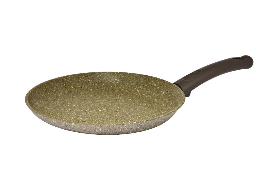 Каменное покрытие является одним из самых прочных и долговечных среди покрытий, не утрачивает свои антипригарные свойства в течение всего срока службы посуды, устойчиво к механическим повреждениям. Подходит для индукционных, стеклокерамических, газовых и электрических плит. Утолщенное дно уберегает продукты от сгорания, дает более равномерное распределение тепла, прогрев посуды, аккумулирует тепло и не дает пище остывать долгое время. При таком подходе Вы можете выключать плиту заранее, а пища дойдет естественным способом и ее не надо разогревать несколько раз. Таким образом достигается экономия электроэнергии.  Возможно использование металлических (не острых!) аксессуаров для перемешивания: ложки, лопатки и т.д.  Подходит для использования в посудомоечной машине.  Специальный материал soft-touch бакелит дает эффект прорезиненной ручки и делает ее приятной, мягкой на ощупь. Такая ручка не выскользнет даже из мокрых рук.  Каменное семислойное покрытие Durit Select Pro произведено из натуральных минералов без содержания вредных элементов (PFOA - перфтороктановой кислоты), обладает повышенной прочностью, позволяет использовать металлические аксессуары.