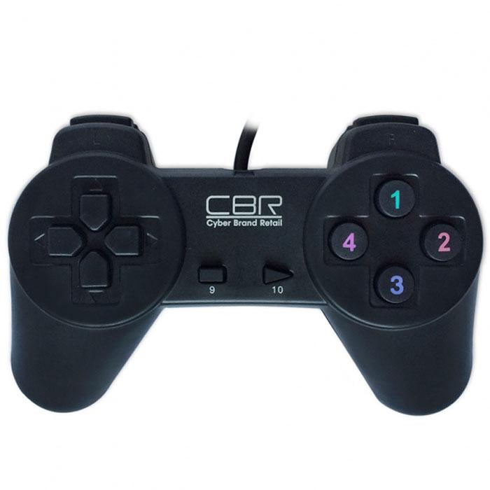 CBR CBG 905 геймпад для PCCBG 905Игровой джойстик CBG 905 - самая простая и доступная модель в ряду игровых устройств CBR. На борту - только самые нужные и важные функции: классический пульт управления, плюс 10 функциональных кнопок. Лучше всего этот джойстик подойдет для простых изометрических игр и наверняка будет оценен под достоинству любителями олдскульных хитов, типа Street Fighter.