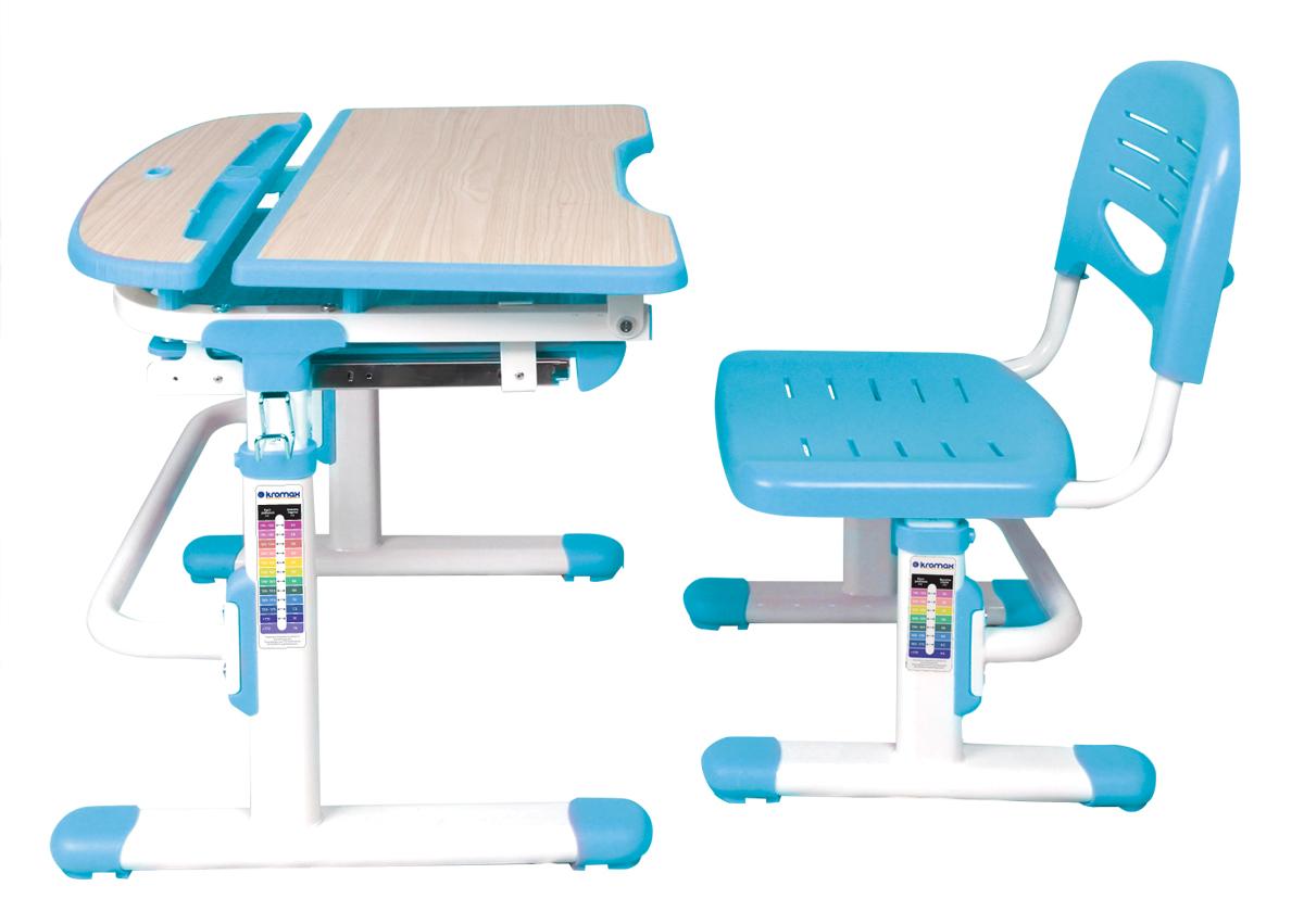 Многофункциональный комплект детской мебели Alphabet Karl, цвет: голубой 3 стула интернет магазин мебели