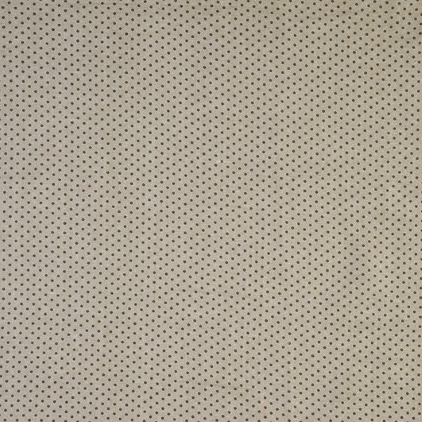 Ткань Mas d'Ousvan Dots Chambray, цвет: серый, черный, 110 х 100 см. BDOT.CHY