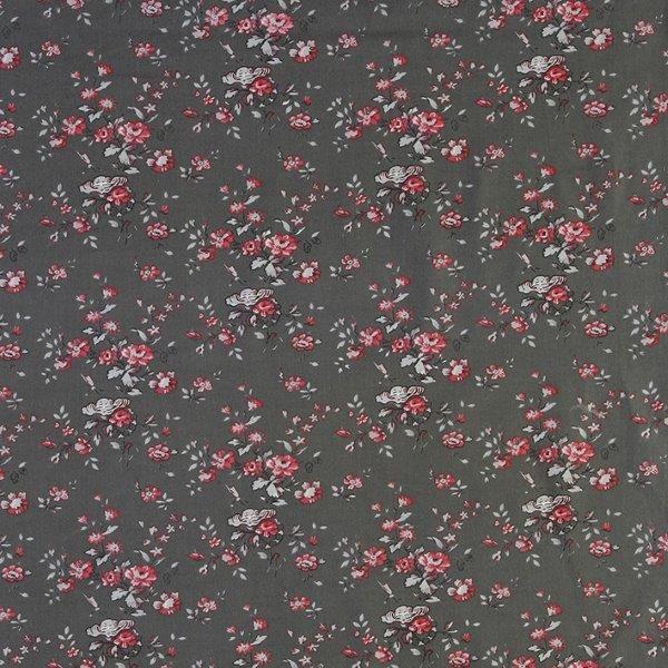 Ткань Mas d'Ousvan  Marion gris , цвет: красный, 110 х 100 см. BION.YR -  Подарочная упаковка