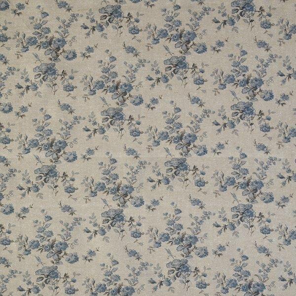 Ткань Mas d'Ousvan  Marion Chambray , цвет: голубой, 110 х 100 см. BION.CHB -  Подарочная упаковка