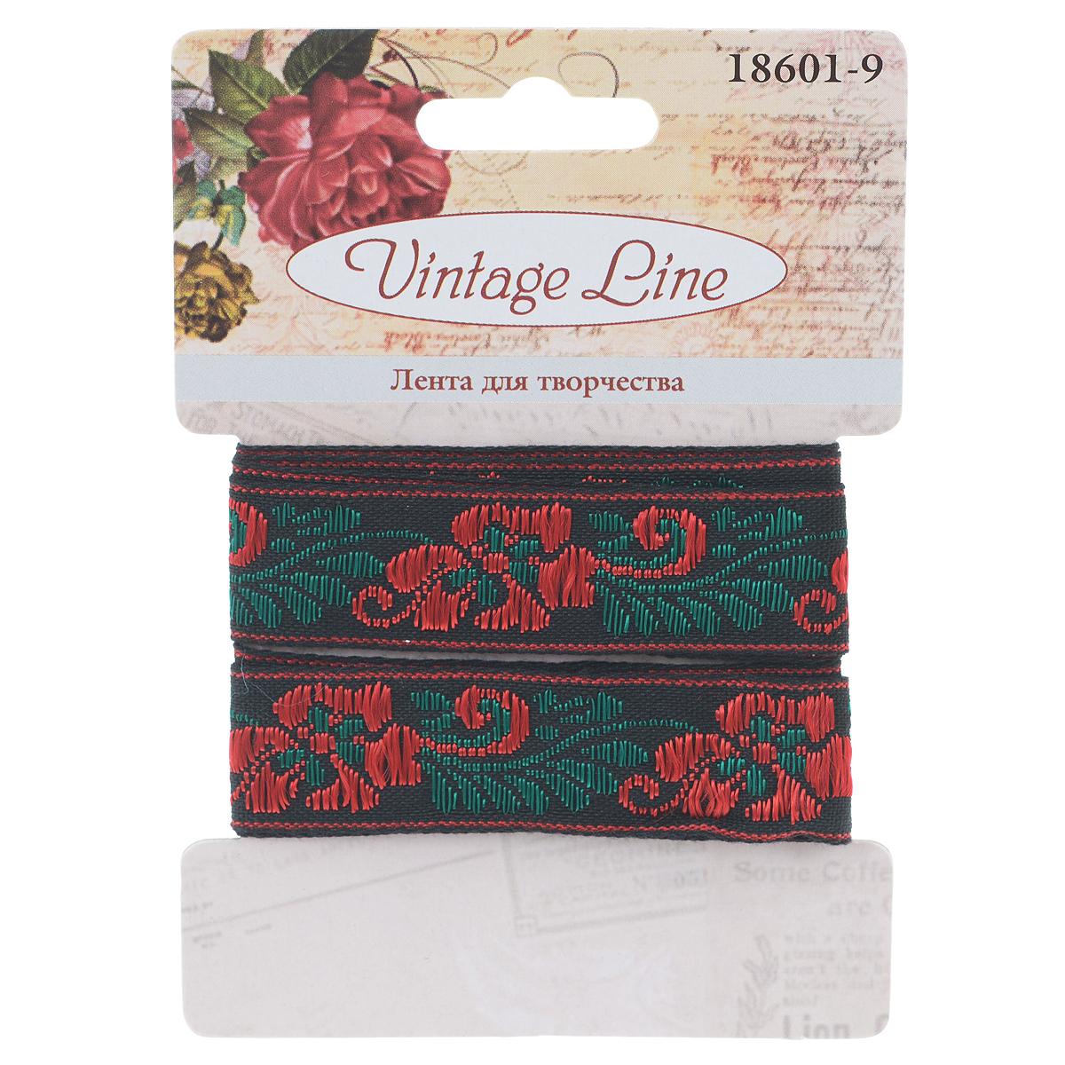 Лента декоративная Vintage Line, 1,3 х 100 см 77096577709657Декоративная лента Vintage Line выполнена из текстиля и оформлена различными вышитыми цветками. Такая лента идеально подойдет для оформления различных творческих работ таких, как скрапбукинг, аппликация, декор коробок и открыток и многое другое.Лента наивысшего качества практична в использовании. Она станет незаменимым элементом в создании рукотворного шедевра. Ширина: 1,3 см.Длина: 1 м.